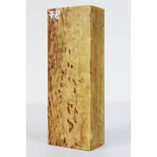 Карельская береза стабилизированная 78 ( каверна с торца)