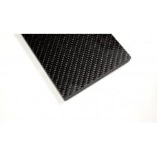 Плашки карбон 12к- 7мм (твил)