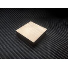 Квадрат латунный 40х40х10мм