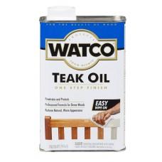 Масло тиковое защитное WATCO Teak Oil Finish 0,946