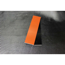 G-10 Черно-оранжевый Пара накладок 8*40*140 мм