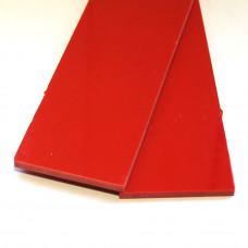 G-10 красный Пара накладок 3*40*130 мм