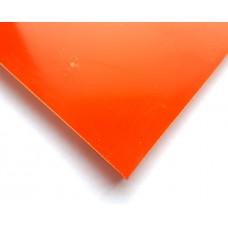 G-10 Оранжевый. Плита  8* 130*250 мм +-