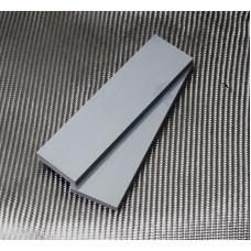 G-10 Серый Пара накладок 8*40*140 мм