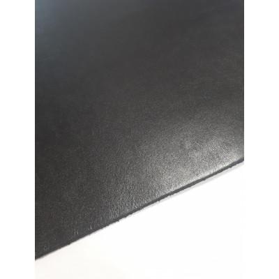 Кожа чепрак черный 3-3.3 мм (30х20 см+-)