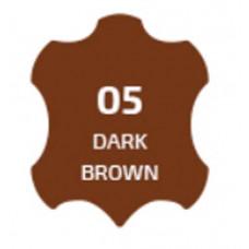 Краска для кожи Сапфир- темно-коричневый (100 мл)