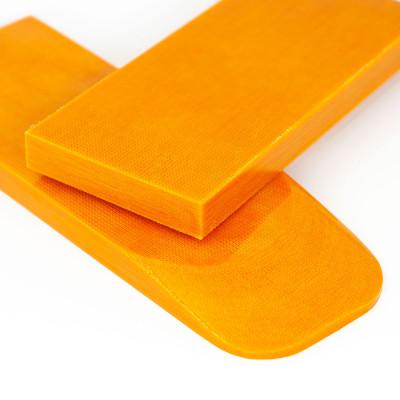 Микарта оранж пара накладок ( 2шт.) 8*45*130 мм