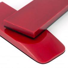 Микарта темно-красная пара накладок ( 2шт.)11*45*130 мм