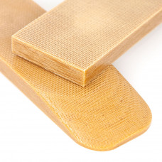 Микарта Койот (песочная) пара накладок ( 2шт.) 8*45*130 мм