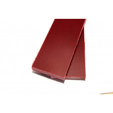 Микарта темно-красная пара накладок ( 2шт.) 8*45*130 мм