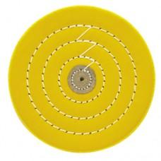 Круг муслиновый желтый 152х6х50 средний