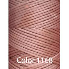 Нить вощеная Dafna 1 мм. Бледно-розовый 1168