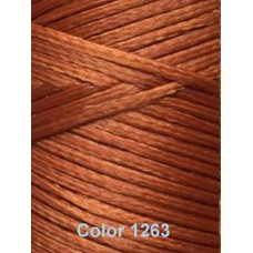 Нить вощеная Dafna 1 мм. Светло-коричневый 1263
