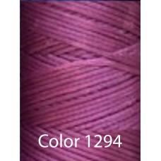 Нить вощеная Dafna 1 мм. Фиолетовый 1294