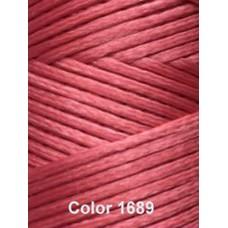 Нить вощеная Dafna 1 мм. Розовый 1689