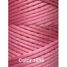 Нить вощеная Dafna 1 мм. Розовый 1698