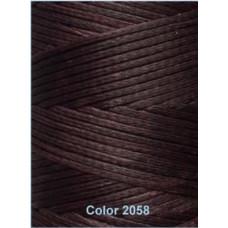 Нить вощеная Dafna 1 мм. темно-коричневый 2058