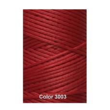 Нить вощеная Dafna 1 мм. Красный 3003