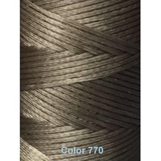 Нить вощеная Dafna 1 мм. Светло-серый 770
