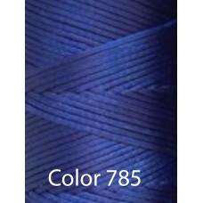 Нить вощеная Dafna 1 мм. Синий 785