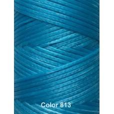 Нить вощеная Dafna 1 мм. Голубой 813