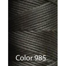 Нить вощеная Dafna 1 мм. Темный асфальт 985
