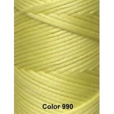 Нить вощеная Dafna 1 мм. Светло-желтый 990