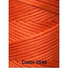 Нить вощеная Dafna 1 мм. Оранжевая 3040