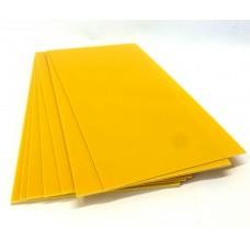 G-10 Желтый. Для проставок 0.5*130*250 мм