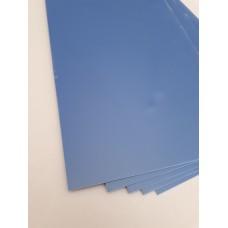 G-10 Синий. Для проставок 1*130*250 мм